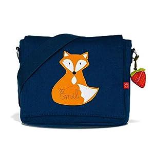 Kindergartentasche & Kindergartenrucksack in einem: Fuchs für Jungen (mit Namen)
