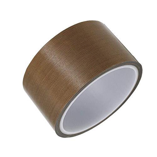 Impresa Teflon-Klebeband für Vakuumiermaschine, Hand- oder Impuls-Versiegelungsgerät (10 mm/13 mm/19 mm/25 mm/50 mm/100 mm x 10 m), PTFE-Klebeband, passend für FoodSaver, Seal A Meal, Weston