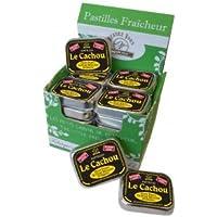 Coffret Pastilles Cachou Sans Sucre (x24)