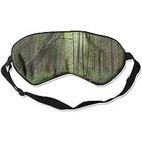 Eye Mask Eyeshade Forest Scenery Sleeping Mask Blindfold Eyepatch Adjustable Head Strap preisvergleich bei billige-tabletten.eu