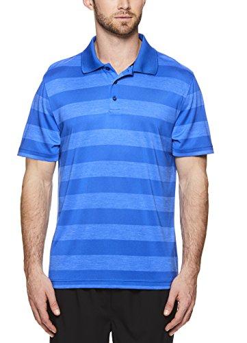 HEAD Herren Poloshirt Icon Polyester Training Workout & Tennis Poloshirt Kurzarm - Blau - Groß