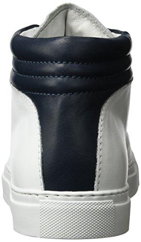 Nat-2 Unisex-Erwachsene Sleek High-Top Weiß (white navy)