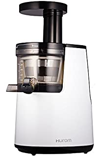 Hurom HH-WBE11 Slow Juicer - Exprimidor de zumo a baja velocidad de Segunda Generación, Blanco (B00JA8P9K4) | Amazon price tracker / tracking, Amazon price history charts, Amazon price watches, Amazon price drop alerts