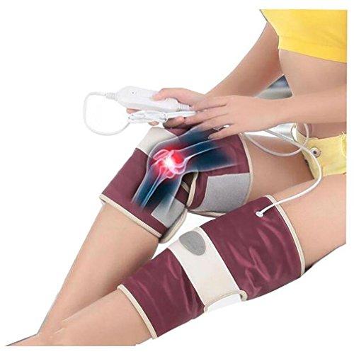 Ginocchiere elettriche ad infrarossi lontani Attrezzature per massaggi con ginocchio caldo Uomo e donna Cura delle gambe Fisioterapia Articolazioni Po Anziani