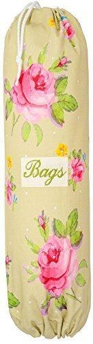 large-plastic-bag-holder-sage-vintage-rose-choice-of-size