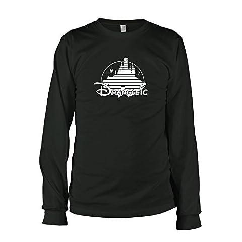 TEXLAB - Drangleic - Langarm T-Shirt, Herren, Größe XL, schwarz
