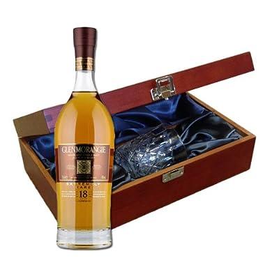 Glenmorangie 18 YO In Luxury Box With Royal Scot Glass