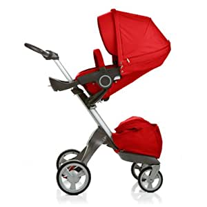 Stokke Xplory High Basic Baby Stroller in Red