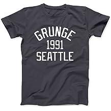 Grunge Music Seattle 1991 T-Shirt 100% Baumwolle