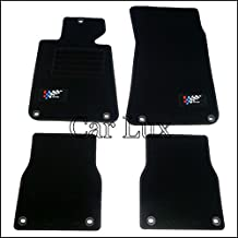 Car Lux AR00069 - ALFOMBRILLAS A MEDIDA Racing Velour para serie 3 E30 Coupe