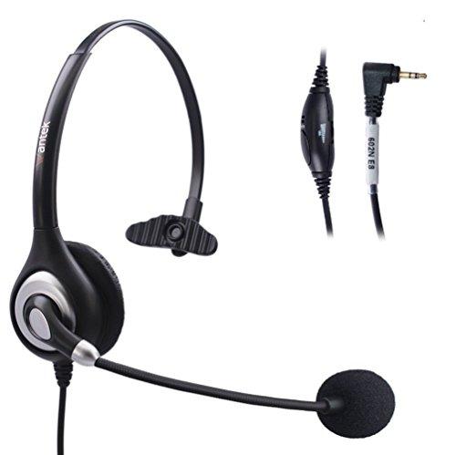 arama-wantek-telefoni-cuffia-mono-con-cancellazione-del-rumore-mic-volume-mute-per-cisco-linksys-spa