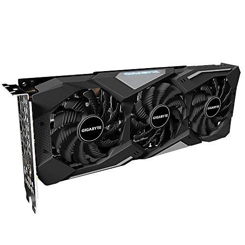 Gigabyte GV-N2060GAMINGOC Pro-6GD - Tarjeta gráfica GeForce RTX 2060 Gaming OC Pro 6GB GDDR6 (192BIT, HDMI+3DP, Windforce 3X), color negro
