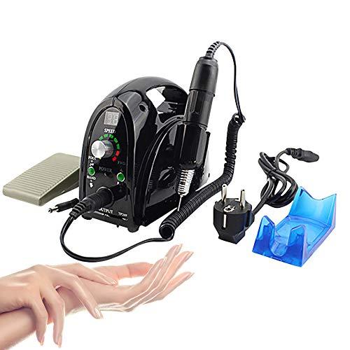 Lima per unghie professionale 35.000 rpm trapano per unghie elettrica per rimuovere le unghie in gel acrilico e unghie leviganti