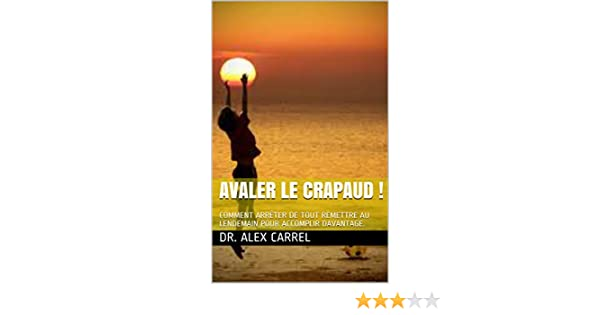 PDF LE TÉLÉCHARGER AVALER CRAPAUD