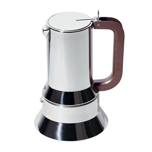 Alessi Espressomaschine für Induktion Edelstahl