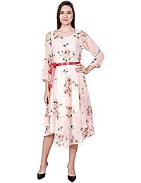 Lubnas Women's Georgette Dress