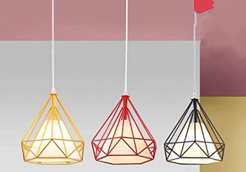 yiopk Kronleuchter Licht Decke führte Kronleuchter Schlafzimmer Kinderzimmer Licht Diamant DREI Kronleuchter -