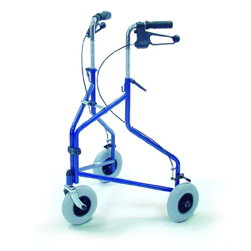 Dreirad- Gehwagen Ergo Farbe blau