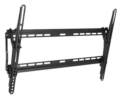Soporte de pared con inclinación para televisor LED o LCD de 40 a 80'
