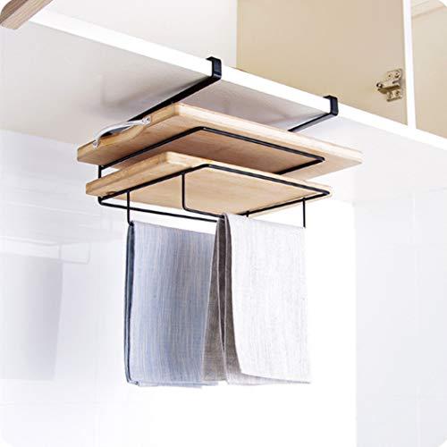 Wisfruit Kabinett unter Regal-Korb, Küche-Speicher-Organisator-Korb, Kochgeschirr-Halter-hängendes Regal-Gestell für Küche, Durchschlag frei