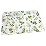 Zcfhike 8 Cub and Leaves Mix and Match - White Baby Portable Reusable Changing Pad Mat 19.7X 27.5 inch