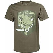Metal Gear Solid Beige Fox Hound T-Shirt - Small (Electronic Games) [Importación Inglesa]