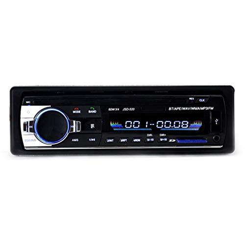 yanana JSD520 Autoradio-Stereo Player Digital Bluetooth Auto-Aux Input-Empfänger SD USB-MP3-MMC WMA-Player Langer Absatz