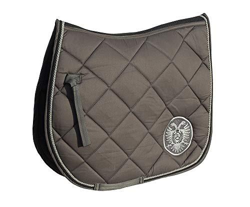 Sattelkissen aus Baumwolle von Rhinegold, belüftet, Rücken, Pferde, viereckig, tolle Luxus-Geschenkidee -