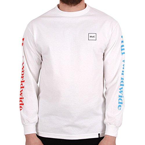 HUF Herren Langarmshirt Domestic T-Shirt LS