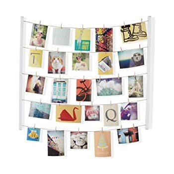 Fotorahmen mit leine 90x30 cm inkl 12 klammern - Portafoto da parete ikea ...