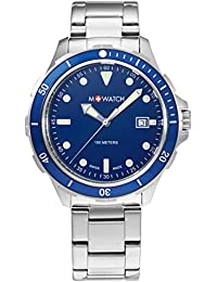 M-WATCH Aqua Steel 41 Analog Blue Dial Men's Watch-WBX.45240.SJ