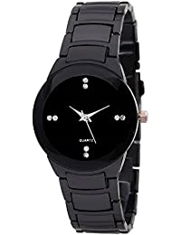 Indium Analogue Black Dial Women's & Girl's Watch Watches For Girls Women Watches Wrist Watches Girl Watches In...