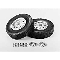 TAMIYA 56508 - RC Truck Aluminum Front Wheels - Compare prices on radiocontrollers.eu