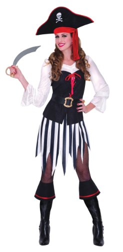 ea Honey Pirate Sweetheart Fancy Dress Costume (Pirate Fancy Dress Womens)