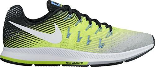 Nike Air Zoom Pegasus 33, Entraînement de course homme Grigio/Giallo