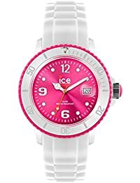 Ice-Watch - 013821 - ICE white - White Fluo pink - Medium