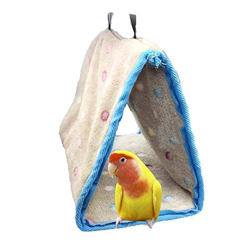 Yssabout Nido caldo per autunno e inverno, rifugio per pappagalli, parrocchetti, pappagallini, calopsitta, cacatua, inseparabili, fringuelli