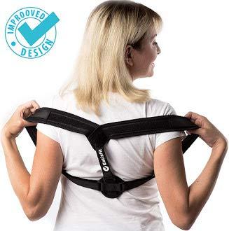 Everyday Medical Rückenstabilisator zur Haltungskorrektur | Als Rückenstütze, Schultergurt, Geradehalter, Rückentrainer, Haltungstrainer für Rücken & Schulter, Rückenstabilisator & Halterungskorrektur