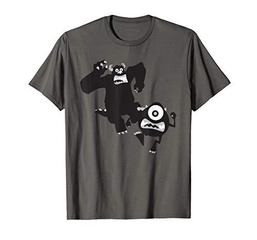 Disney Pixar Monsters Inc. Sulley Mike Lights Out  T-Shirt (Pixar Monsters Inc)