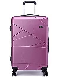 Kono Designer Light Weight Hardshell 4 Spinner Wheels Travel Trolley Suitcase Luggage 3 Piece Set/ 20'' inch Cabin Size