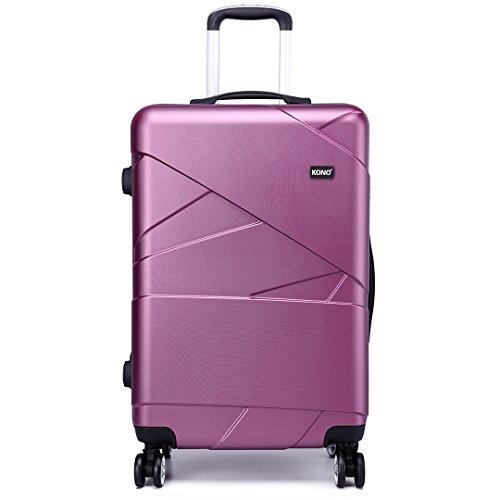 Kono Fashion Bagages de voyage à 4 roues Valises de PC...