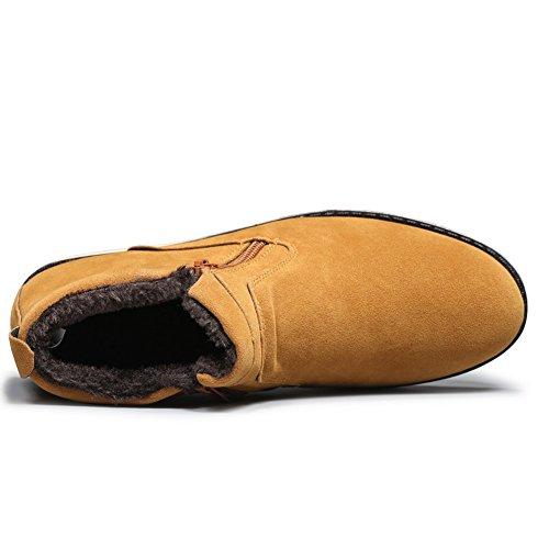 XiaoYouYuBoots - Stivali Desert Boots uomo Style#2 Yellow