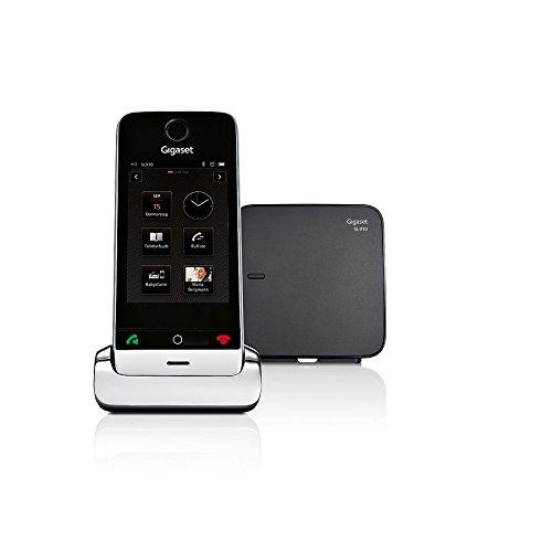 Gigaset SL910 Telefon - Schnurlostelefon / Mobilteil - mit Farbdisplay / Design Telefon / schnurloses Telefon - Freisprechen - schwarz - 19