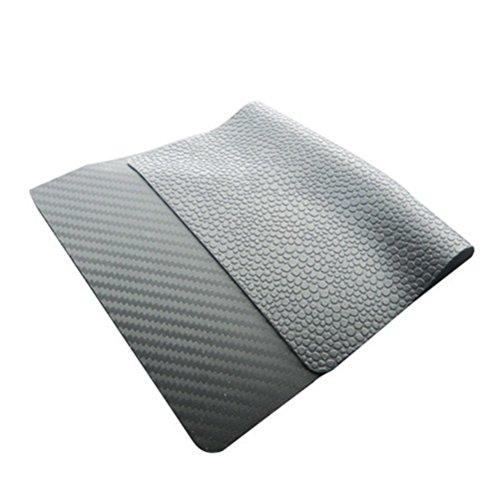 WINOMO Rutsch Sticky denn Dashboard Pad Halterung Handy-Gel Matt Kleber Pad-Montage für Handy Parfum Flasche GPS Schlüssel Sonnenbrille soleil-noir (225x 145x 2mm)