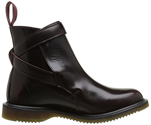 Dr. Martens Teresa, Boots femme Rouge (Cherry Red Arcadia)