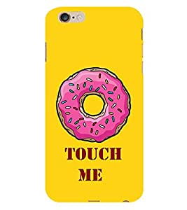 Touch Me 3D Hard Polycarbonate Designer Back Case Cover for Apple iPhone 6 Plus