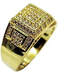 b16a1d68fe13 Amazon.es  anillos de hombre para meñique  Joyería