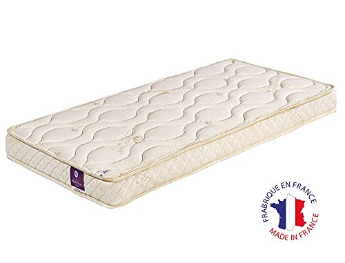 Alfred & Compagnie Matelas Bebe 70x140 coutil Coton Bio