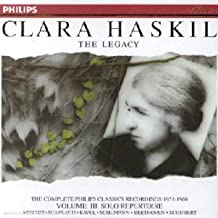 The Legacy:The Complete Philips Classics Recordings 1951-1960 Vol 3 Solo Repertoire