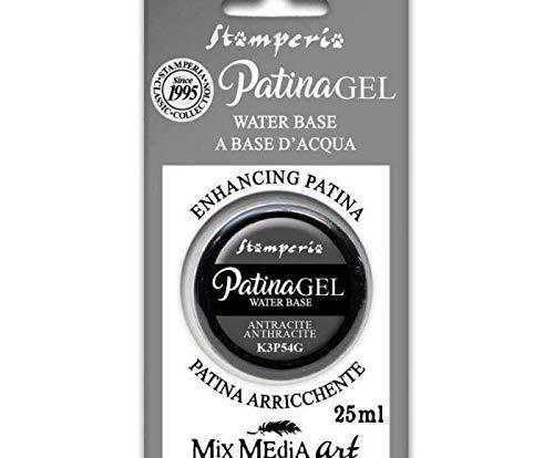Patina-Gel - Anthrazit-25 ml, Stamperia, Spezielle Farben, Hobby, Farben, Decoupage